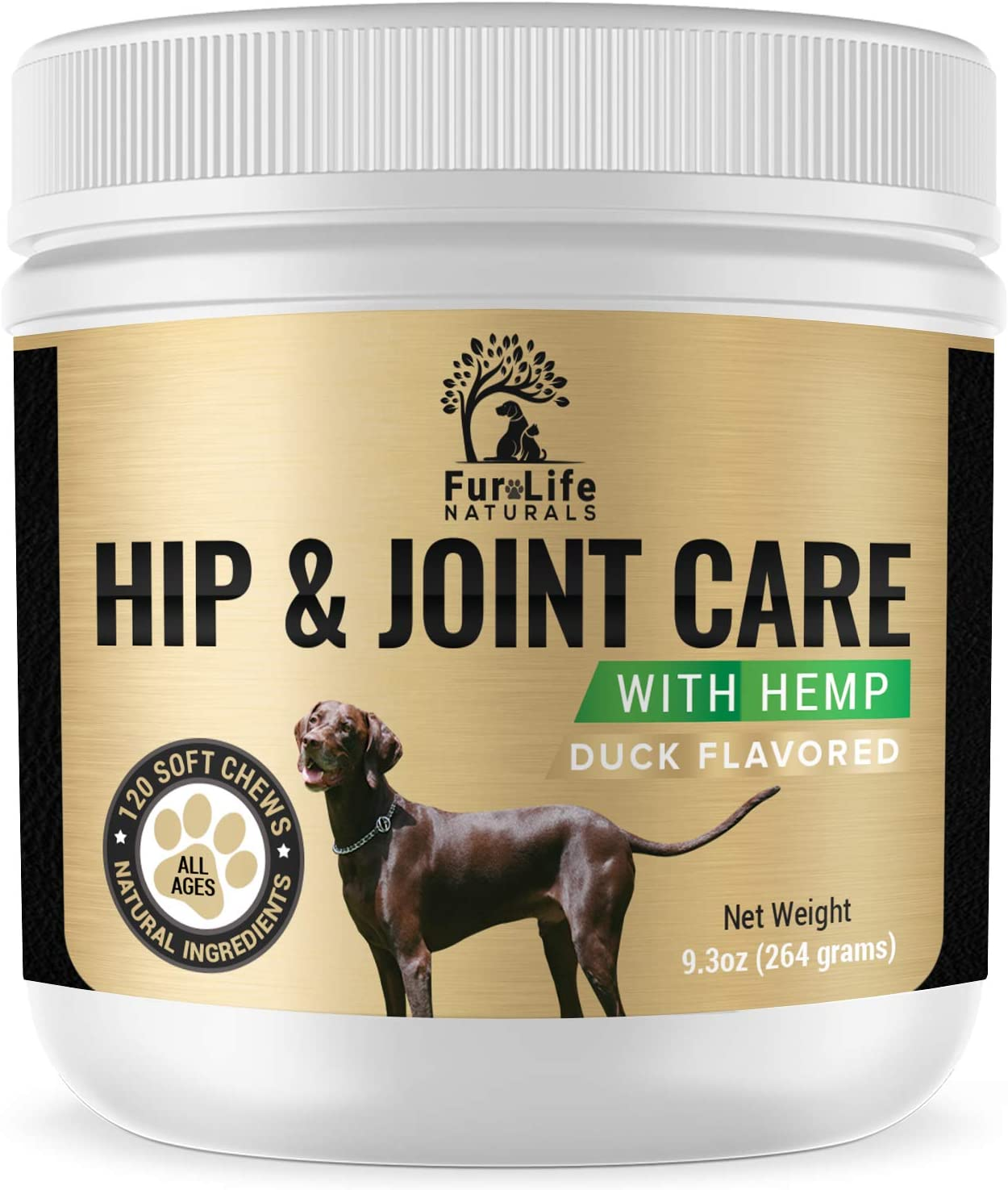 FurLife Naturals Glucosamine All items in the store Translated for Dogs w Hip Joint - Supplement