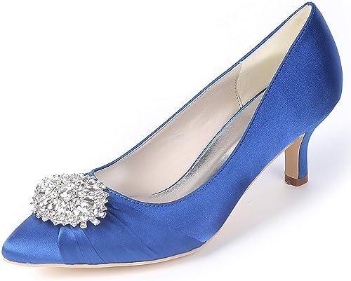 L@YC Chaussures De Mariage pour Femme Perle De SoiréE   6cm De Haut Talons Blanc Demoiselle d'honneur