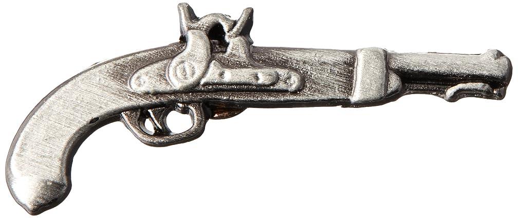 EagleEmblems P02317 Pin-Gun,Flintlock (1'')