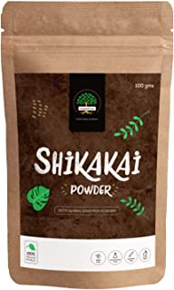 GreenTree Herbal Shikakai Powder - Shampoo and Conditioner (100 Gms)