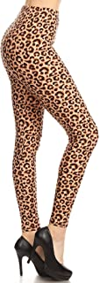 Leggings Depot Women's Ultra Soft Printed Fashion Leggings BAT17