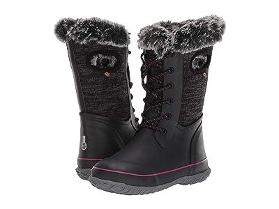 Bogs Kids Arcata Knit (Toddler/Little Kid/Big Kid) (Black Multi) Girls Shoes