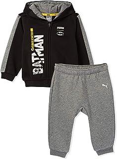 Puma Baby Clothing Set For Boys (Black & Grey - 4-6 months)