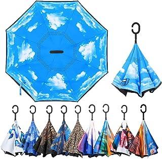 Double Layer Inverted Reverse Umbrella
