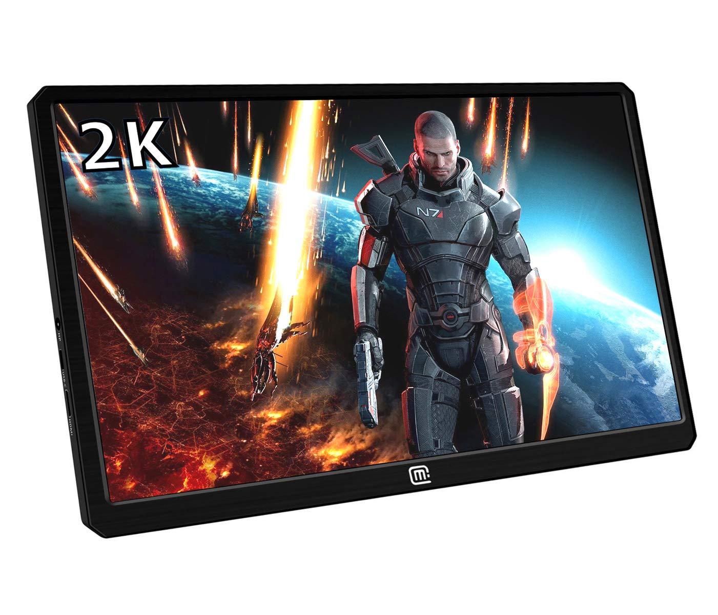 Magedok 13.3 Inch 2K Resolution Portable Gaming Monitor IPS Quad ...