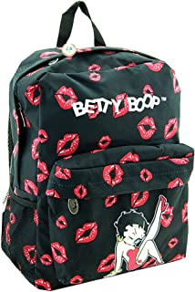 Betty Boop Microfiber Large Backpack with 16 Inches Height
