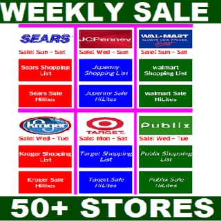 Weekly Sale Ads, Sale Hilites, Shopping List Of All Major Department Stores & Supermarkets ( Total Package, NO ADS. )
