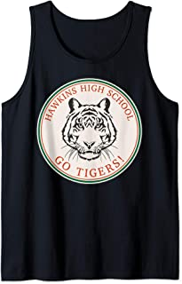 Netflix Stranger Things Hawkins High School Go Tigers Logo Débardeur