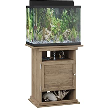 Flipper 10/20 Gallon Aquarium Stand, Rustic Oak