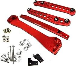 Rear Lower Control Arm Subframe Brace Tie Bar Fit for 1996 1997 1998 1999 2000 Honda Civic EK