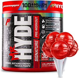 ProSupps Mr. Hyde Signature Series Pre-Workout Energy Drink – Intense Sustained Energy, Focus & Pumps with Beta Alanine, C...