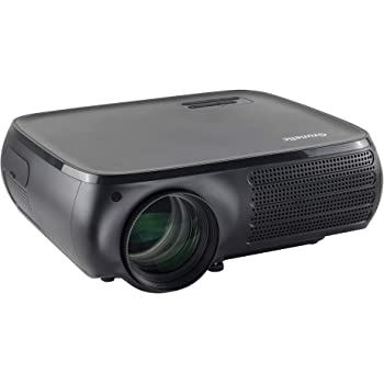Native 1080P Smart Projector - Gzunelic 7000 Lumens Android Wi-Fi Bluetooth Projector, ±50° 4D Keystone Correction, X/Y Zoom, 10000:1 Contrast, LED Video Proyector Wireless Mirror for iPhone 、Android
