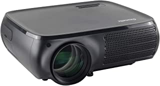 Native 1080P Video Projector - Gzunelic 7000 Lumens Home Theater LED Projector, ±50° 4D Keystone Correction, X/Y Zoom, 100...