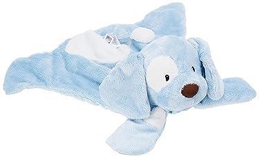 """GUND Baby Spunky Huggybuddy Stuffed Animal Plush Blanket, Blue, 15"""""""