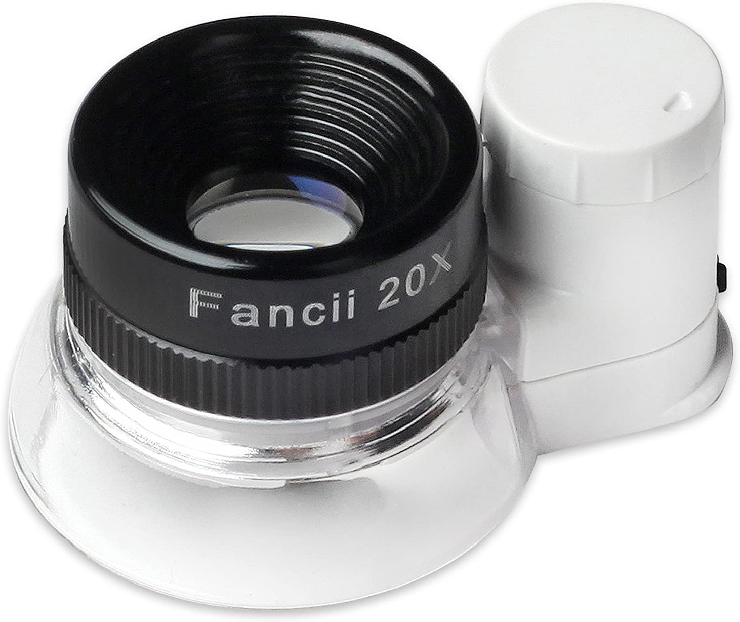 Fancii LED Illuminated 20X Jewelers Magnifier Gla Memphis Mall Animer and price revision Triplet Loupe