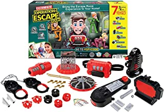 Spy Code Ultimate Operation Escape Room with 3 Original Challenges Plus 4 New Challenges for More Fun & Excitement, Search Solve & Escape Now!, Clear
