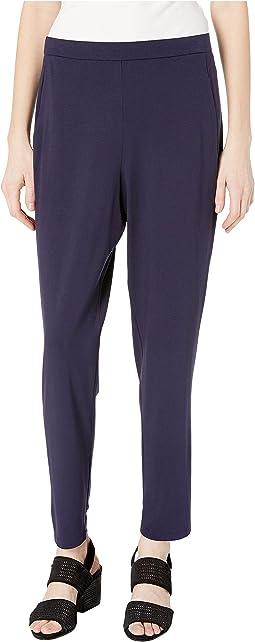 Slim Ankle Slouchy Pants
