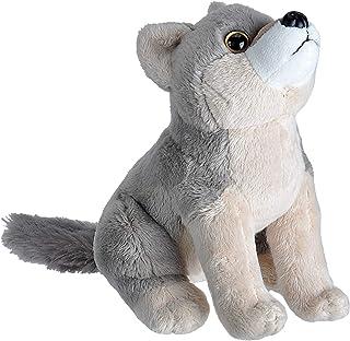 Wild Republic 23315 Wolf Plush, Wild Calls Soft Toys with Original Sound, Kids Gifts, 20 cm, Multi