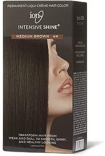 Intensive Shine Hair Color Kit Medium Brown 4N