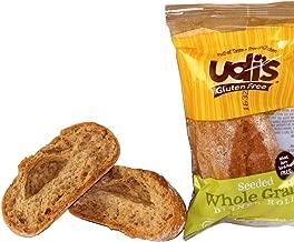 Udi's Gluten Free Whole Grain Dinner Rolls, 1.4 oz., Pack of 36