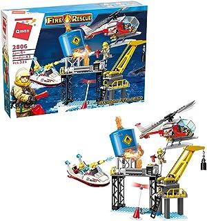 Cordova Qman Offshore field Crisis 370 PCS Building Blocks Toys Set for Kids , Educational Building Bricks Birthday Gift f...