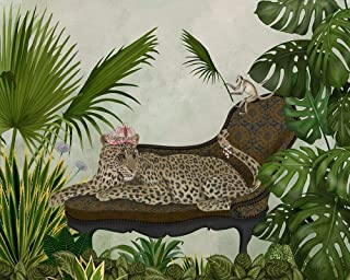 Leopard Chaise Longue by Fab Funky 31