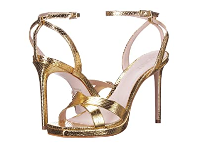 Schutz Ava Rose (Gold) Women