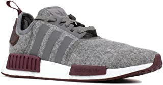 adidas nmd gray and maroon