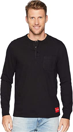 Long Sleeve Baseball Neck Henley