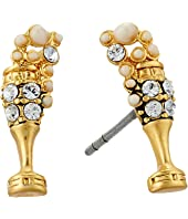Marc Jacobs - Champagne Flute Studs Earrings