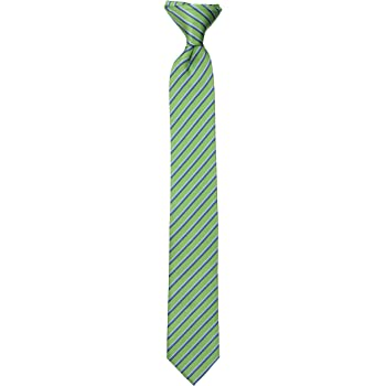 Dockers Big Boys' Striped Clip On Tie
