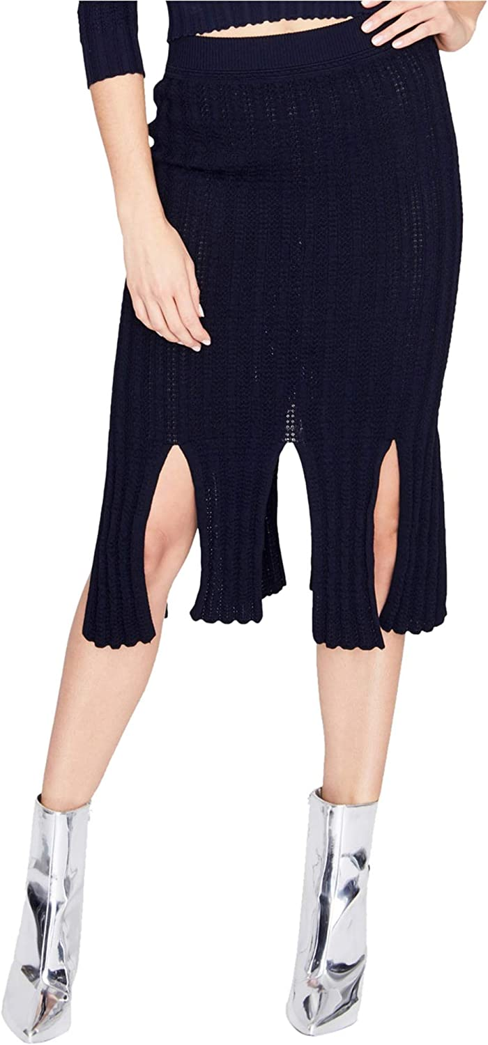 Rachel Roy Womens Knit Pencil Skirt