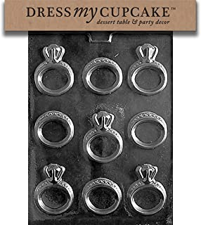 Dress My Cupcake Chocolate Candy Mold, Engagement/Wedding Ring, Wedding