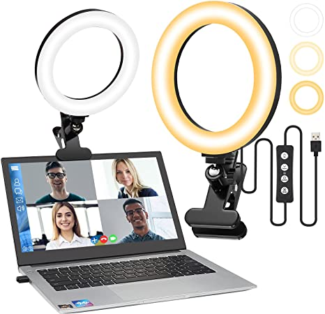 Video Conference Lighting for Laptop Computer 8''