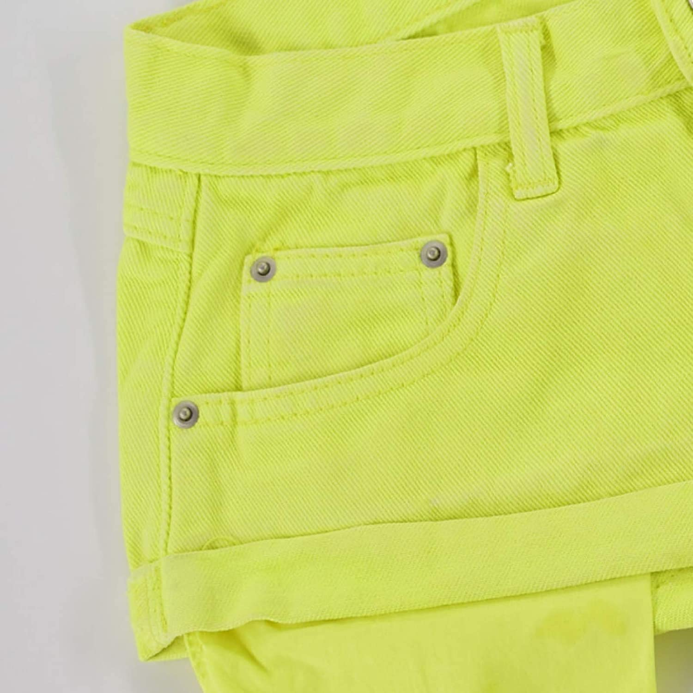 Fllaees Women's Denim Shorts Fashion Trend Vacation Low Waist Outdoor Travel Basic