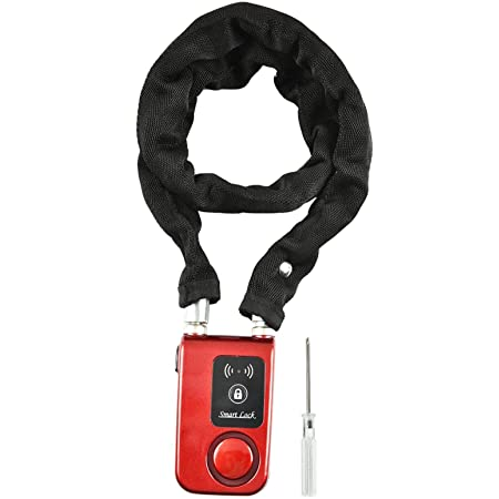 Disc Brake Lock Motorcycle Bicycle Alarm Smart App Keyless Car Theft Lock Waterproof 110 Db Alarm App Control 5 5 Mm Locking Pin Diameter Lock Auto