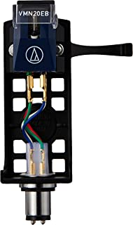 オーディオテクニカ ヘッドシェル付VM型(デュアルムービングマグネット)ステレオカートリッジ VM520EB/H
