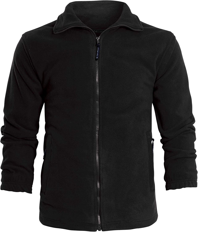 kraftd Unisex Micro Soft Fleece Anti Pill Jacket Classic Polo Winter Workwear Leisure Outdoor S - 3XL