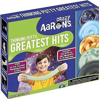 Crazy Aaron's Thinking Putty Greatest Hits Set Strange Attractor, Foxfire, Sunburst, Ion, Super Scarab