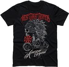 West Coast Choppers T-Shirt Chief Black
