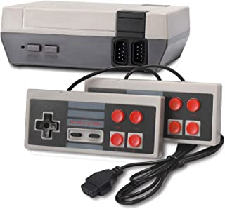 Arrocent Classic Retro Game Console, 8-bit Video Game Built-in 620 Games with 2 Classic Controllers (AV Output)