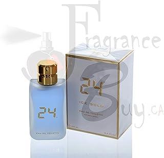 ScentStory 24 Ice Gold 100ml/3.4oz Eau de Toilette Spray Unisex EDT Fragrance