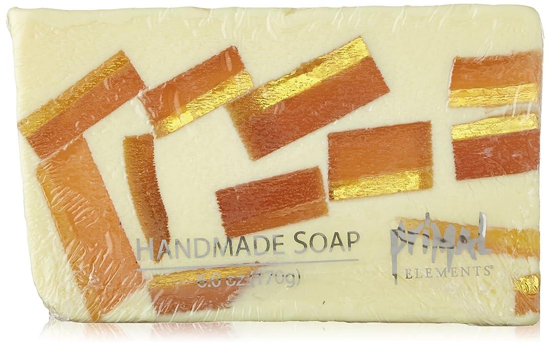 リンケージ剥離許可するPrimal Elements Wrapped Bar Soap, Tahitian Vanilla, 6.0-Ounce Cellophane by Primal Elements
