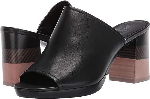 Black Polished Soft Full Grain