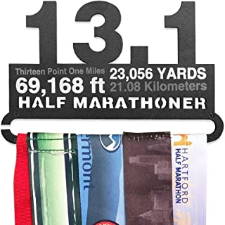 Gone For a Run | Runners Race Medal Hanger | Assorted Designs | Small Holds 6 Medals