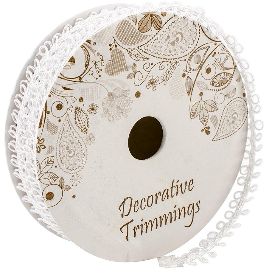 Decorative Trimmings 02780-C-005F-001 Double Loop Gimp Trim 3/8