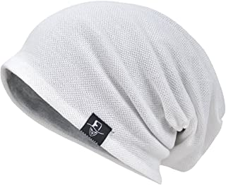 VECRY Men Cool Slouch Beanie Thin Summer Skull Cap Hip-Hop Hat