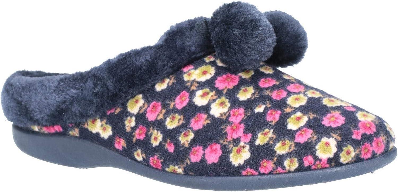 Mirak Womens Chabilis Mule Slipper Floral Size UK 5 EU 38
