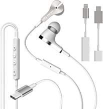 Pioneer Rayz Pro Active Noise Cancelling Earphones, Working, Traveling, Gaming. MFI Lightning USB, Auto-Pause Hands-Free Hey Siri Feature,Compatible with iPhone, iPad, Nintendo Switch (Ice White)