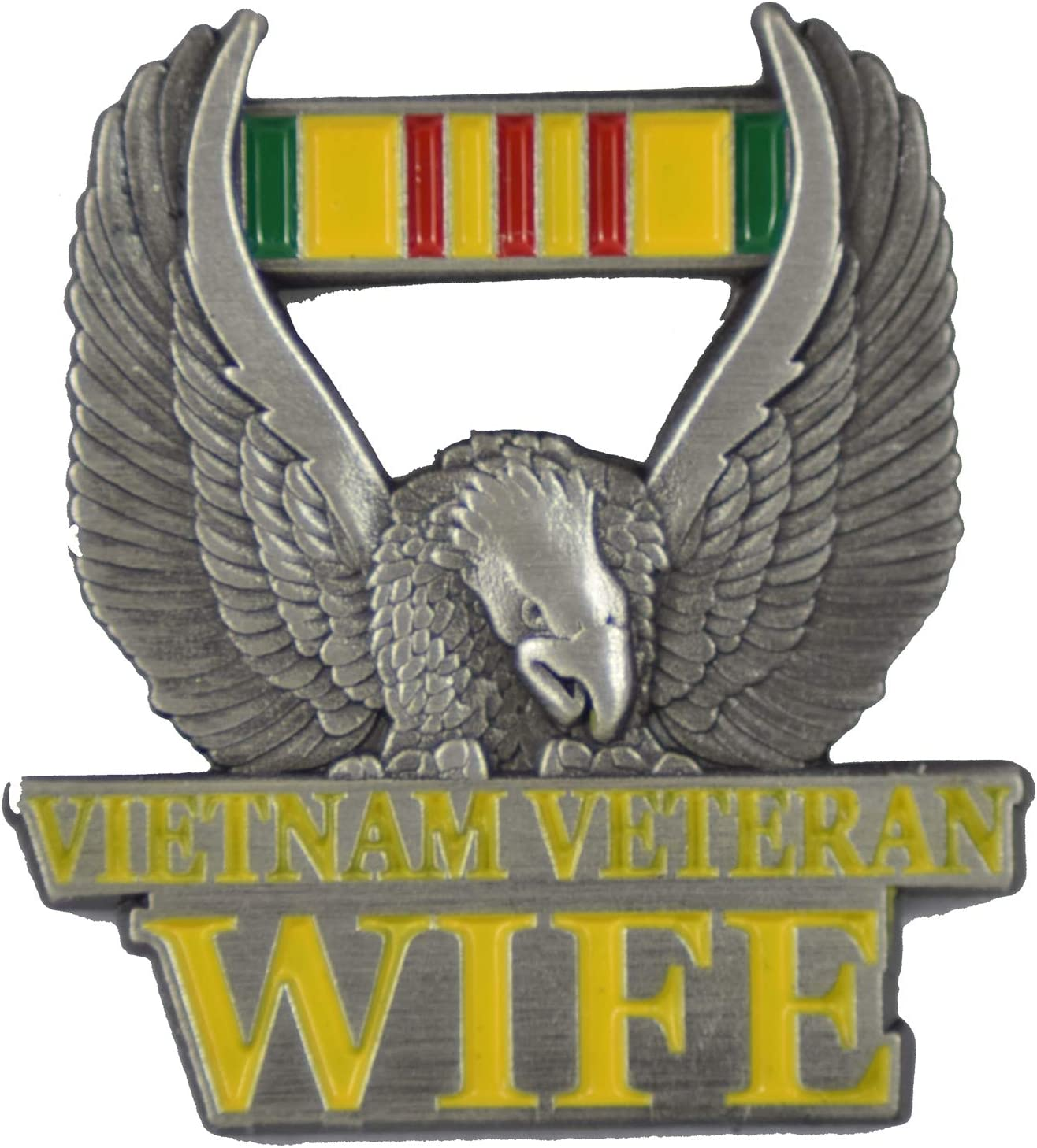 Vietman Vet's Wife LAPEL PIN OR OWNED - VETERAN Oklahoma City Mall Classic BUSINESS HAT